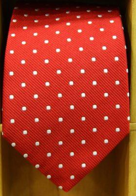 corbata-lunares-rojo