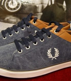 zapatilla fred perry vaquera
