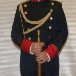 traje gala guardia civil