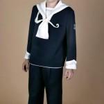 traje marinero azul