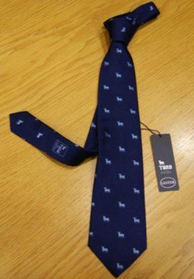 corbata lester azul toro osborne