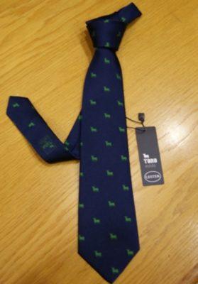 corbata el toro azul
