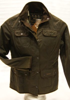 barbour utility olive