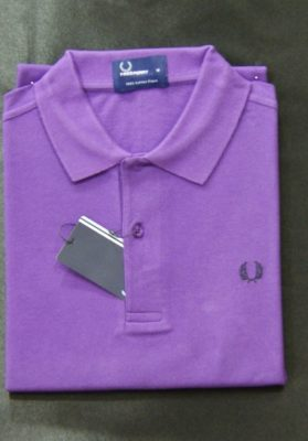 Polo fred perry morado