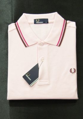 Polo fred perry rosa