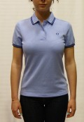 polo fred perry mujer azul