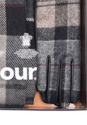 Barbour Bufanda y guantes Mujer