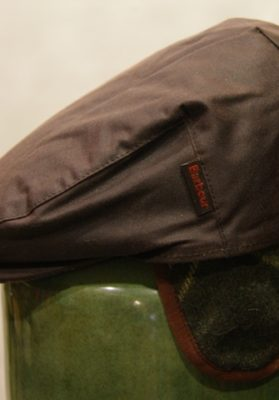 Gorra-Barbour-marron