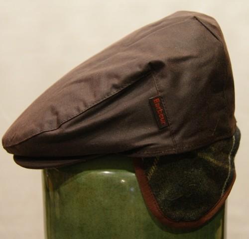 Gorra-Barbour-marron