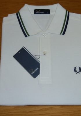 Polo-fred-perry-blanco