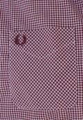 CAMISA-FRED-PERRY-CUADRO-ROJA
