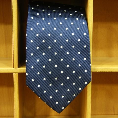 corbata-lunares-azul