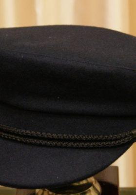 gorra marinera negra