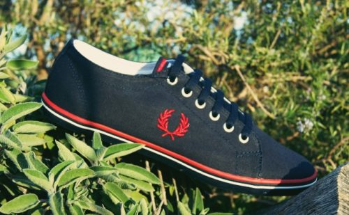 zapatilla-fred-perry-lona-azul-kingston