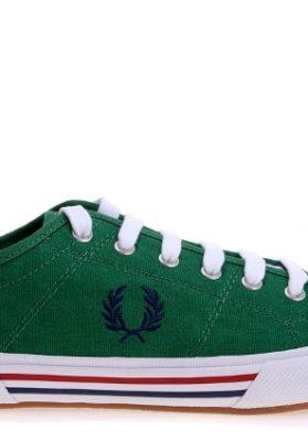 zapatilla-fred-perry-vintage-tennis-verde-sc-r