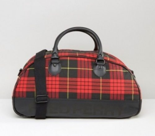 fred-perry-bolso-viaje-cuadros -escoceses-