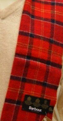 bufanda-barbour-cuadros-roja