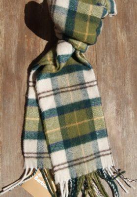 bufanda-barbour-cuadros-verde