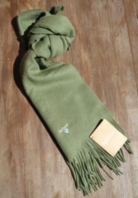 bufanda-barbour-verde