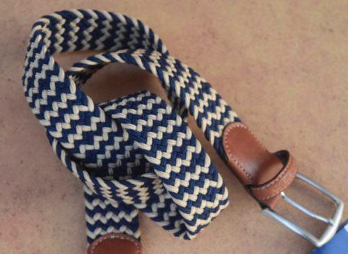 cinturon-elástico-trenzado-Bellido-bicolor-marronyazul-s