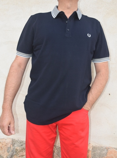 polo-fred-perry-azul-oscuro