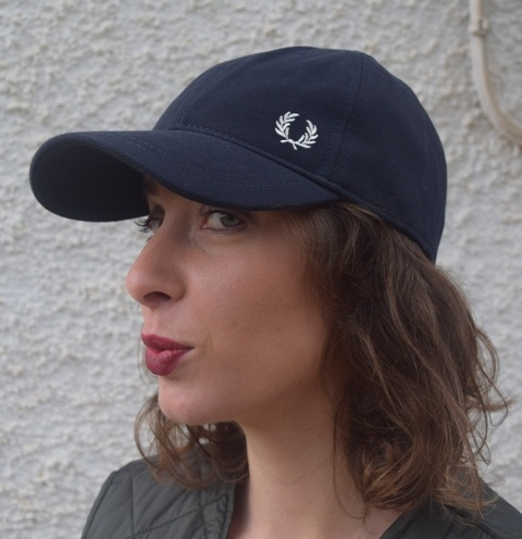 Gorra-Fred-Perry-Azul